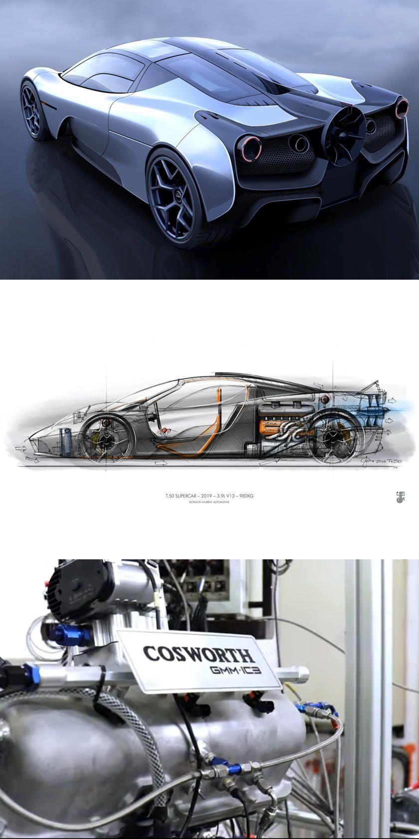 Mclaren F1 Designer S New Supercar Sounds Incredible Listen To The T 50 Supercar Rev All The Way To 12100 Rpm In 2020 Super Cars Mclaren F1 Mclaren