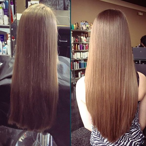 style straight hair the v cut isn t only beautiful from the back hairstyles 5718 | 149874c0f7b9c6265e7ad28a921d84d2