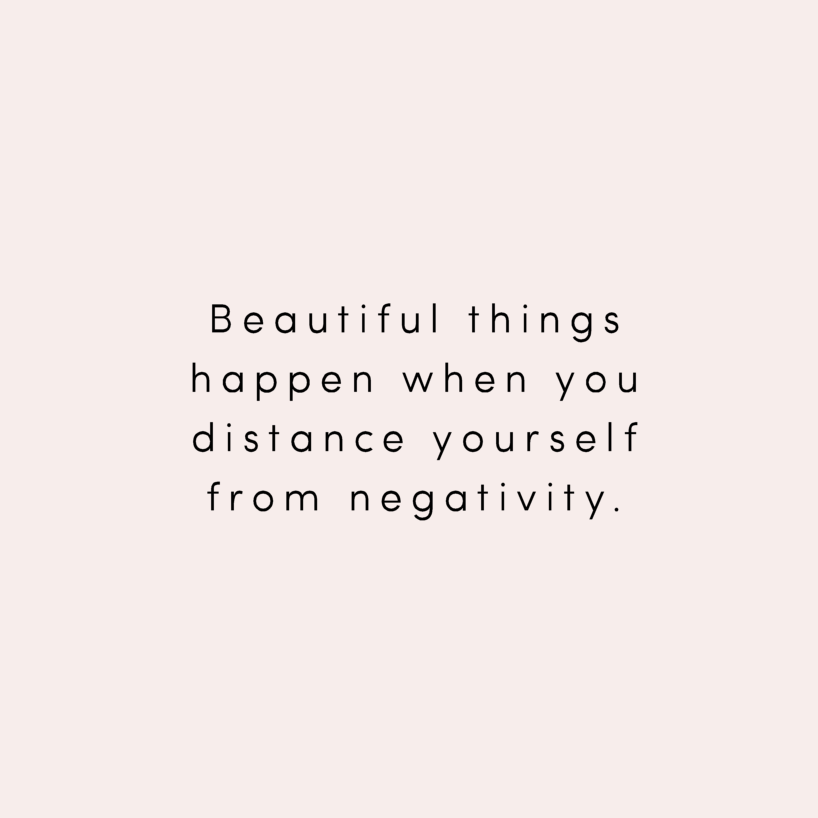 Quote // negativity - Flip And Style