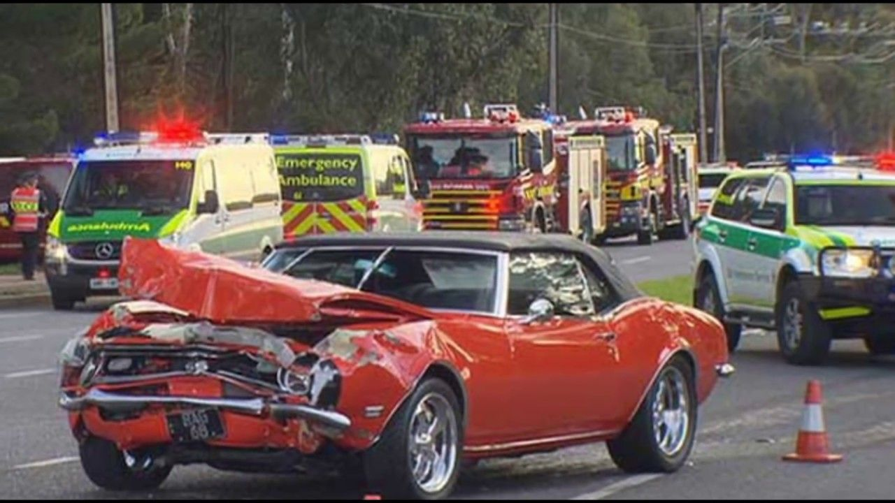 Wrecked Muscle Cars: Wrecked Hot Rods, Crashed Classic Cars ...