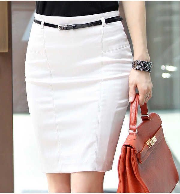 6ff1a1069 Como vestir en la oficina | Vestir en 2019 | Faldas, Faldas cortas y ...