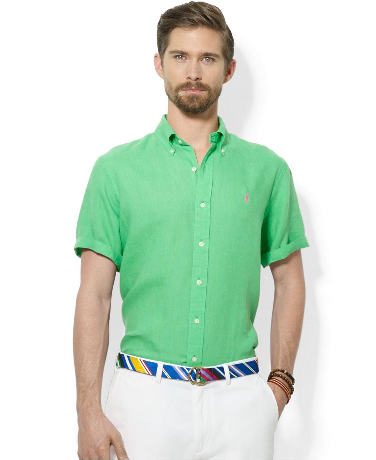 Polo Ralph Lauren ClassicFit ShortSleeved Linen Sport
