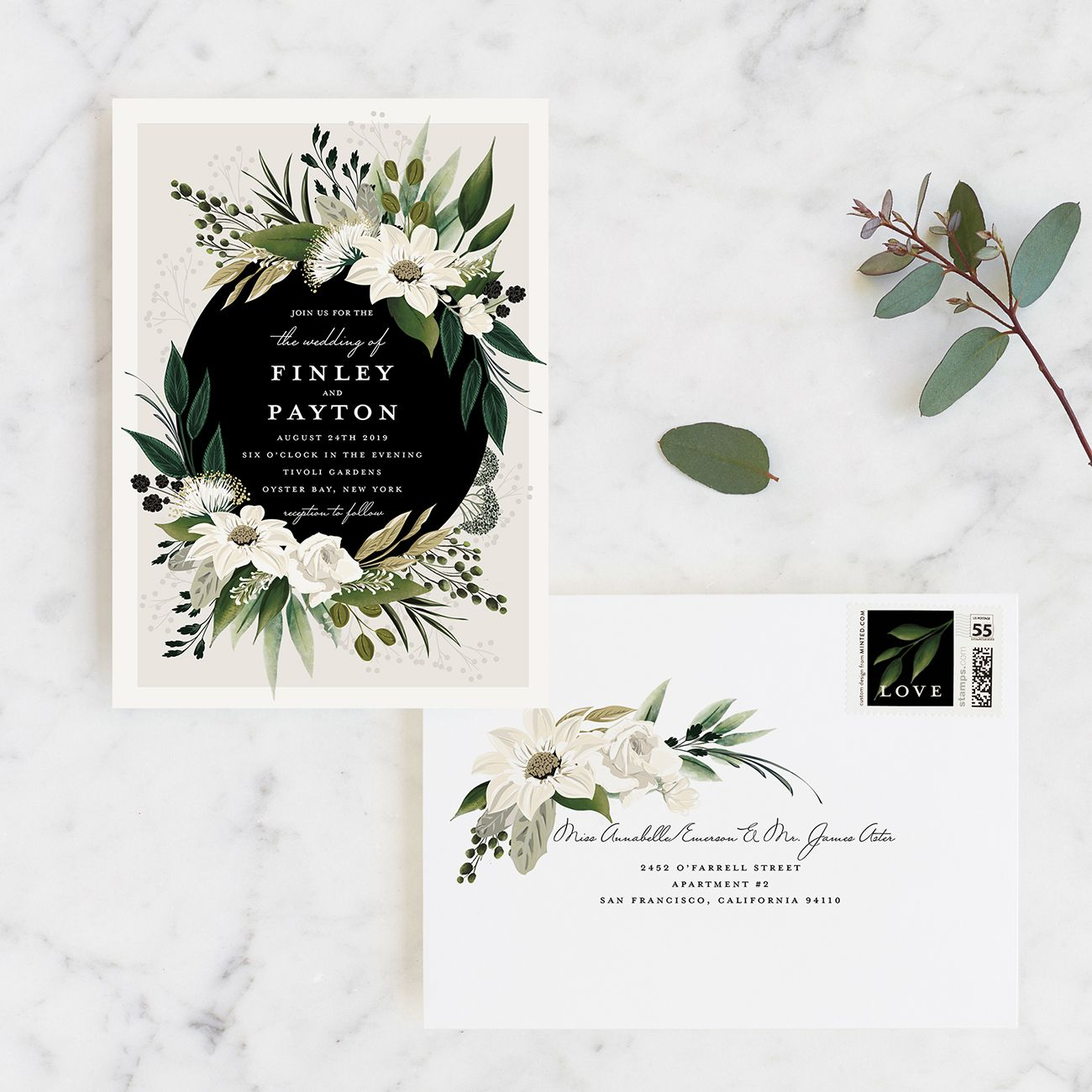 Our Fave Minted Wedding Invitation Suites Wedding