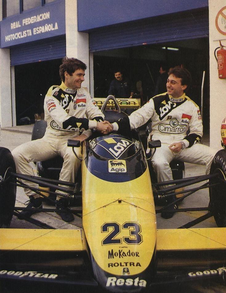 Adrián Campos (temporadas 1987 y 5 carreras de la 1988) y Luís Pérez-Sala (temporada 1988)