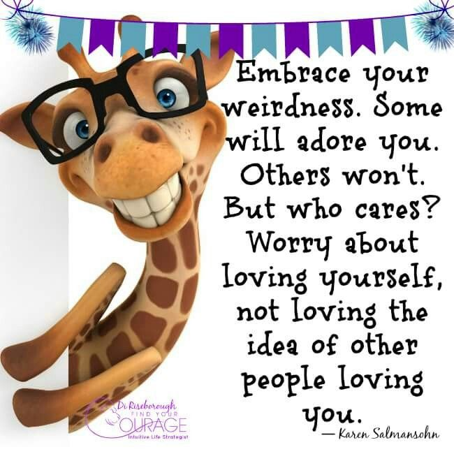 Loving Yourself Self-esteem Words Of Encouragement