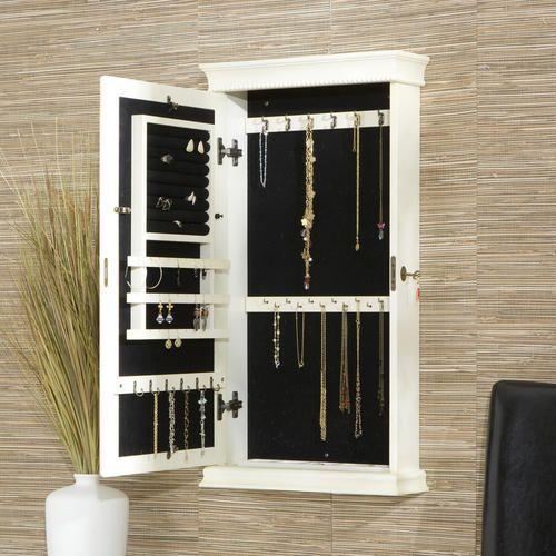Jewelry Box Wall Mounted Jewelry Armoire Jewelry Cabinet