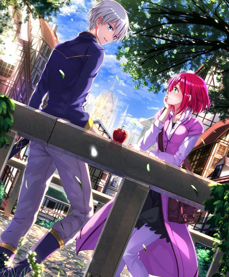 3 Me Encanta Esta Pareja Zen X Shirayuki Snow White With The Red Hair Anime Snow Akagami No Shirayuki
