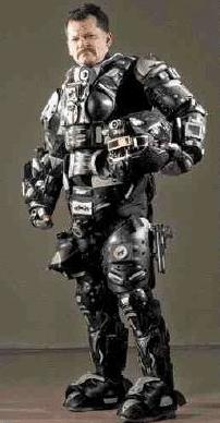 Military Exoskeleton Armor | Inventor creates Halo exo ... Military Exosuit