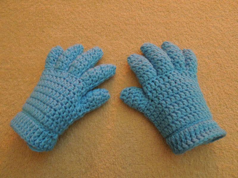 Crochet Finger And Fingerless/Half Finger Gloves By HappyBerry ...