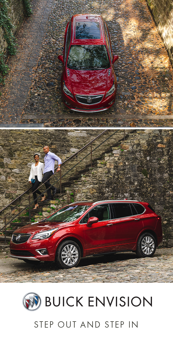 Cobblestone Never Felt So Smooth In The Buick Envision Buick Envision Suv Models Buick