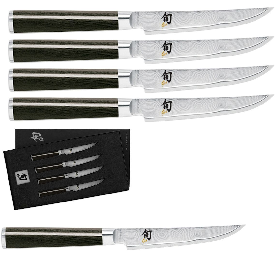 Kitchen and steak knives shun classic piece fineedged