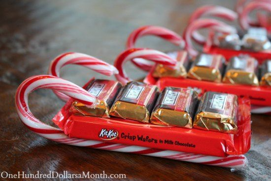 Christmas Candy Craft Ideas.Easy Kids Christmas Candy Crafts Candy Cane Sleigh Kids