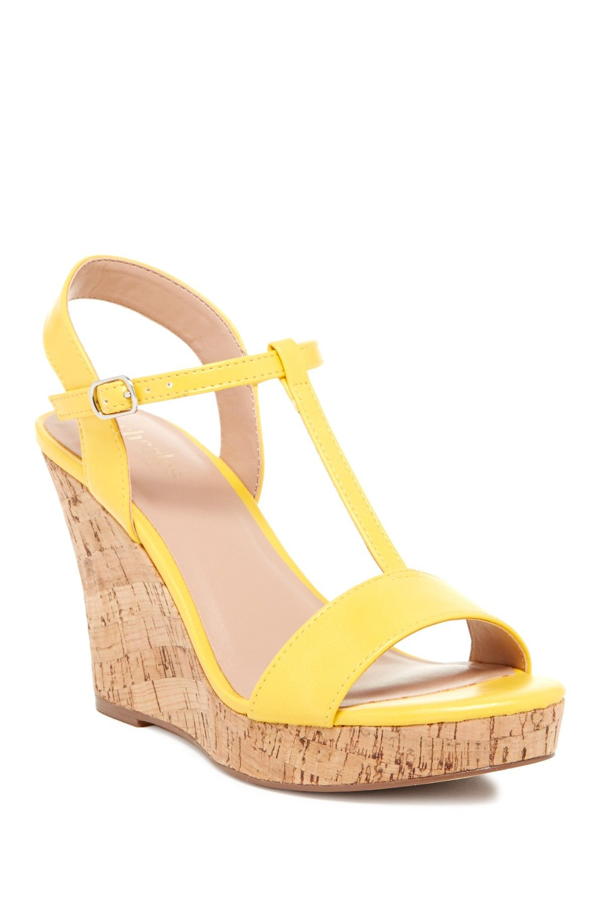 88d87c8aeef cute yellow wedges Yellow Wedges