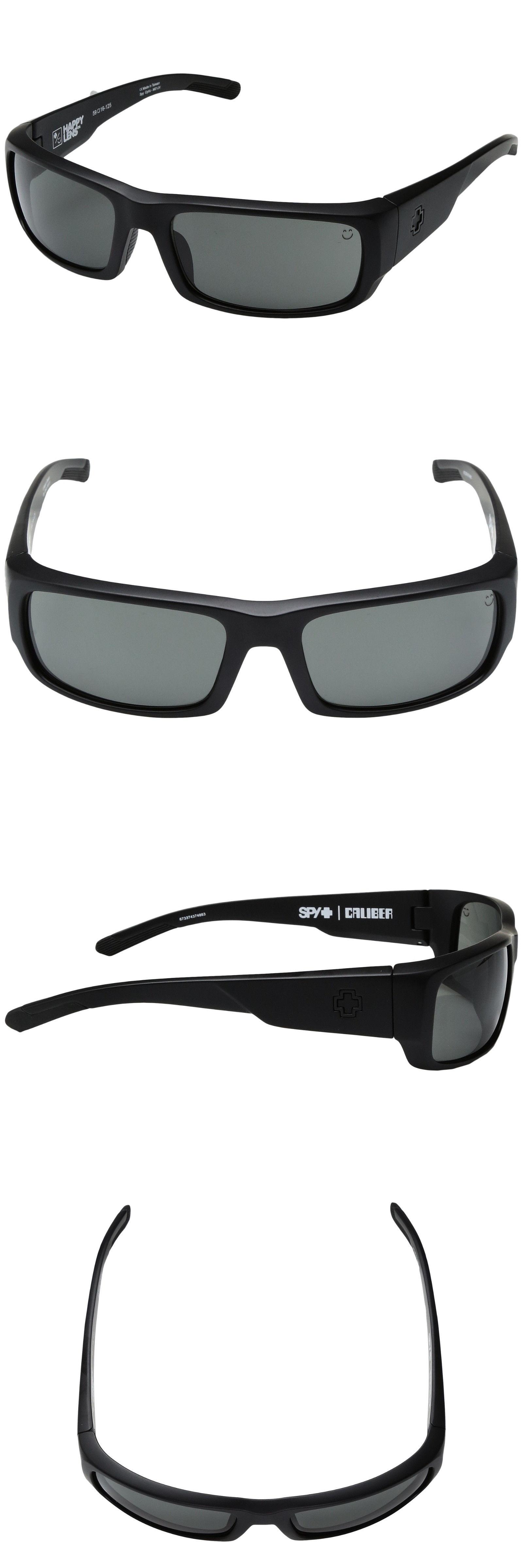 229334eceda Sunglasses 155189  New Men S Spy Optic Caliber Wrap Sunglasses Matte Black  Happy Gray Green -  BUY IT NOW ONLY   36.99 on eBay!