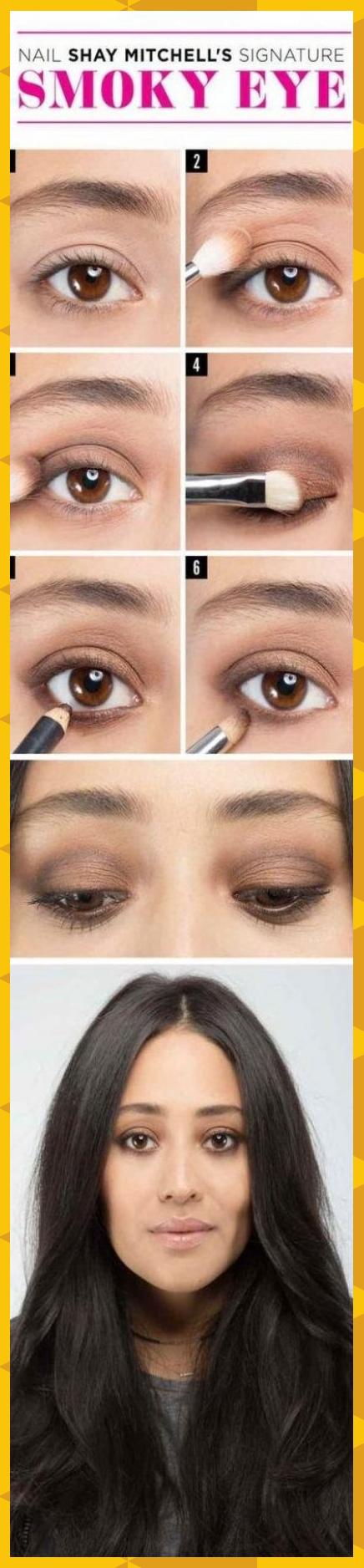 58 Best Ideas Makeup For Brown Eyes Tutorial Night#brown #eyes #ideas #makeup #n