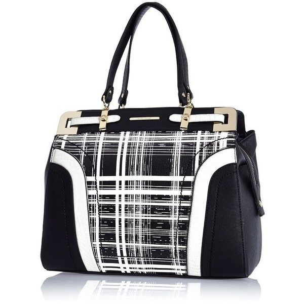 Black and check Mama's bag GLoUD6u