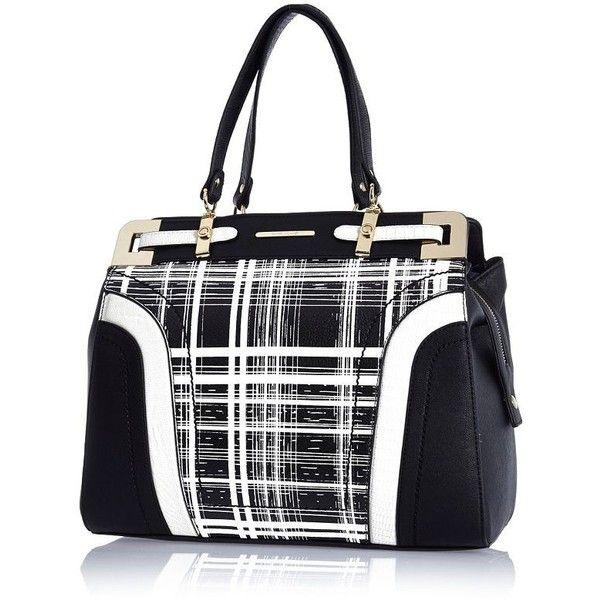 Black and check Mama's bag rmOapMMra