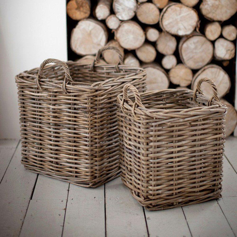 Grey Cottage Woven Storage Bins: Pin By KENDA DAVIS 👸 On A-Tisket A-Tasket Baskets In 2019