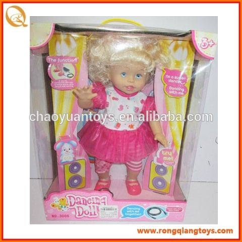 Electric dancing doll with music(can connect to MP3,phone) DO18823008