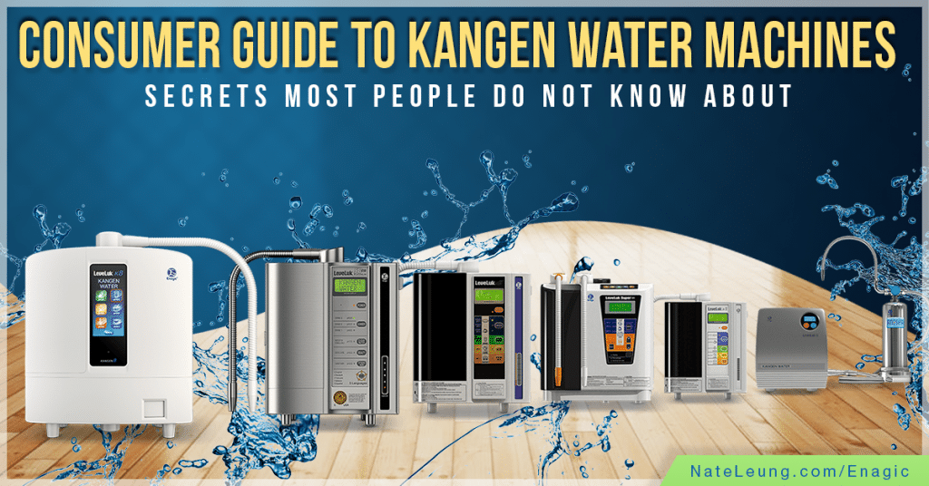 Enagic Review: Consumer Guide To Kangen Water Machines ...