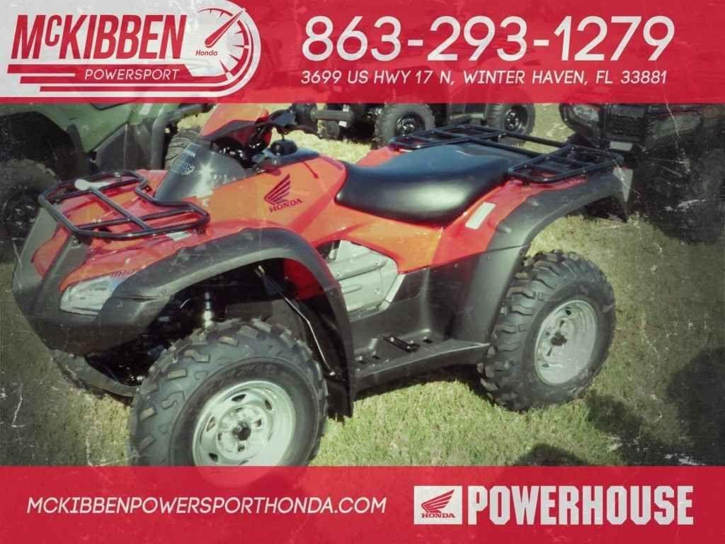 New 2017 Honda FourTrax Rincon ATVs For Sale In Florida 2017 HONDA