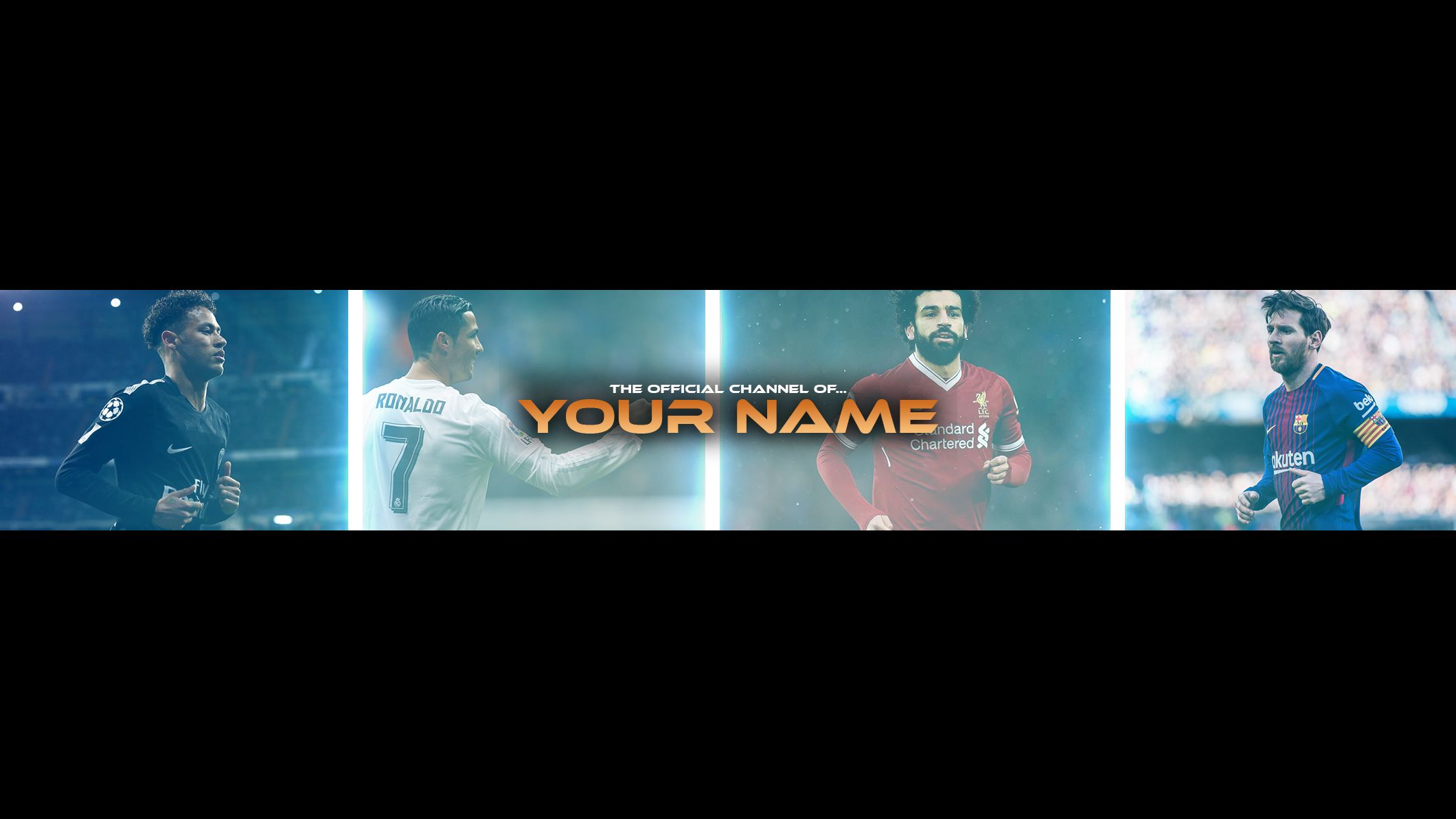 Free Football Banner Template For Youtube Channel 23