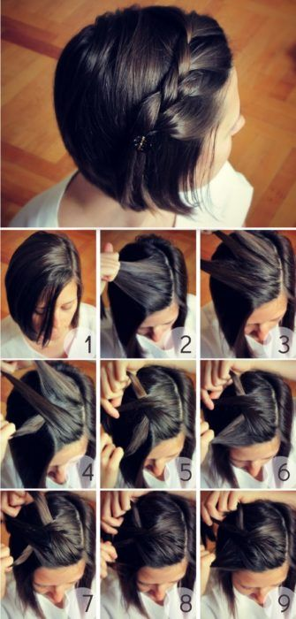 Peinados Pelo Corto Paso A Paso