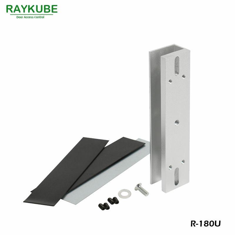 Raykube U Bracket For 180kg Electric Magnetic Lock Install Glass Door R 180u