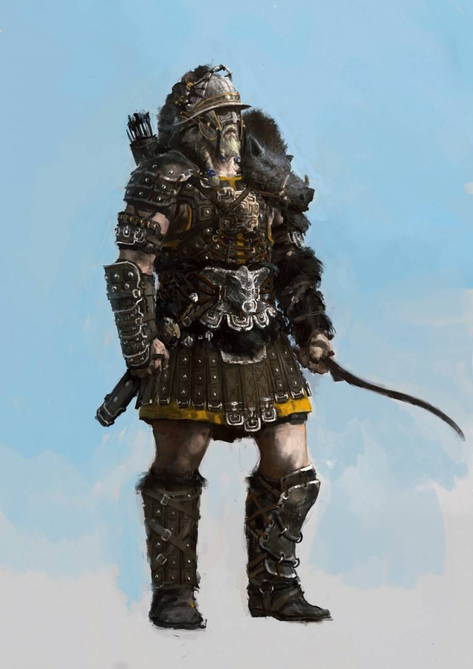 how to make epic aquilonian armor conan