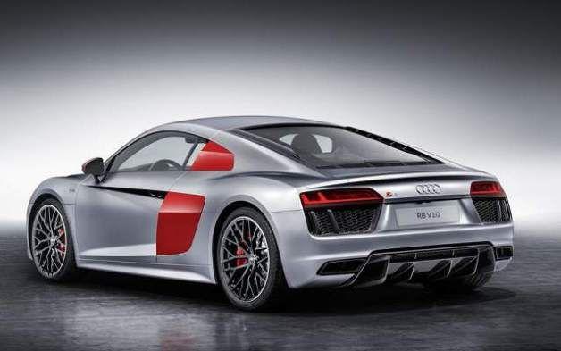 2018 Audi R8 Coupe Rear View Audi R8 V10 Audi Audi R8
