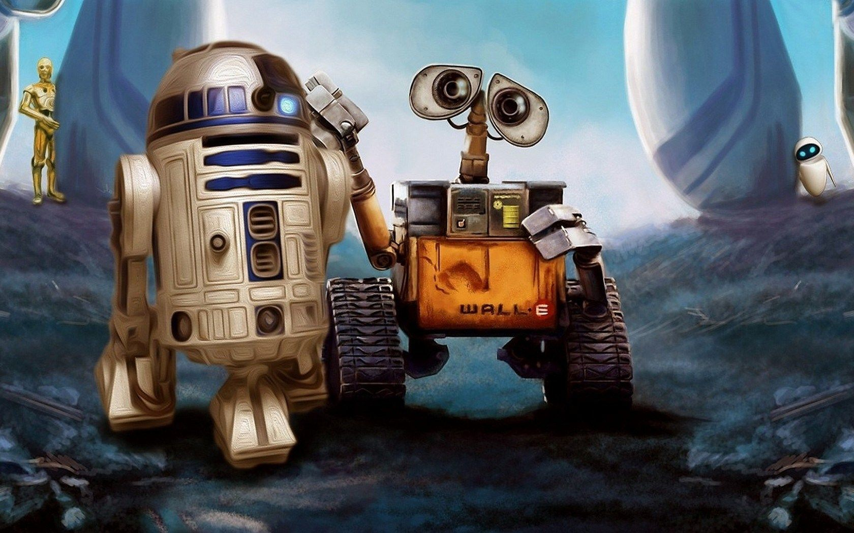 r2d2 wallpaper Google Search Wall e, Good animated