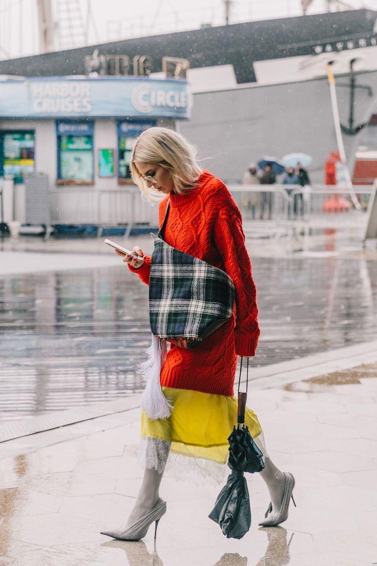 Street Style #NYFW / Día 4 #fashion #style #clothe