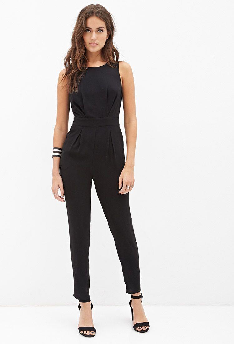 94570716b18 Lace V-Back Jumpsuit
