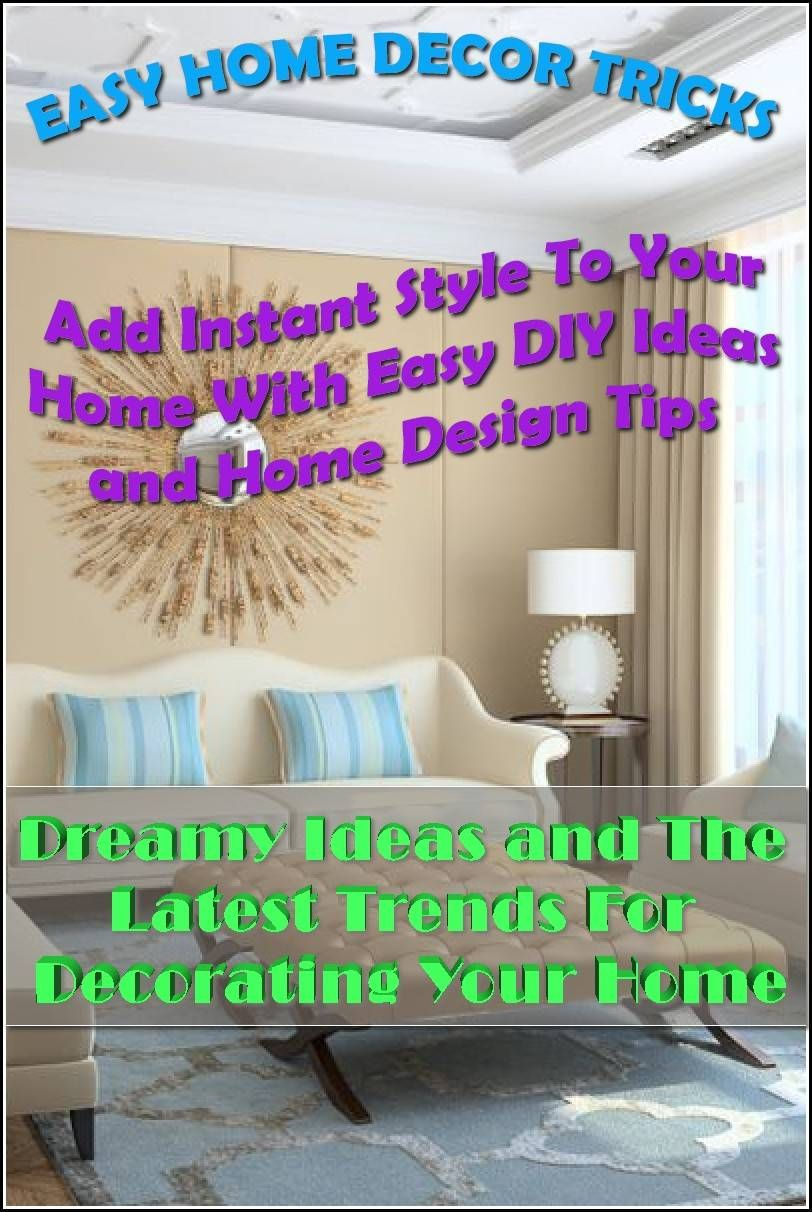 Fix Your Home Without Any Help Home Decor Easy Home Decor