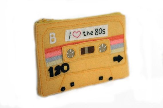 Special Edition Mixtape Pouch - I Love the 80s $52