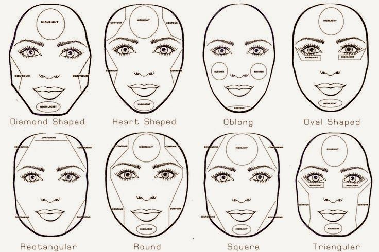 Amazing 1000 Images About Makeup 4 Round Face On Pinterest Makeup Hairstyle Inspiration Daily Dogsangcom