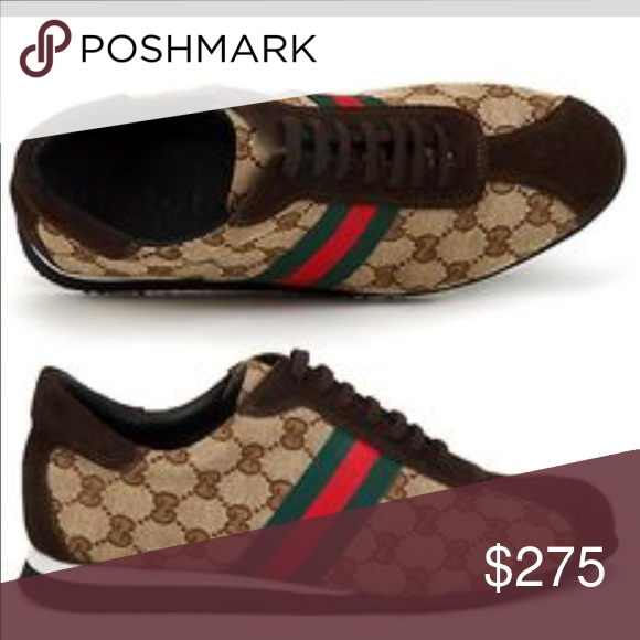 81acc2a25cb Authentic Gucci Shoes Ladies Vintage NWT Gucci Look Great with Skirts Khaki  or Jeans Brand Span-ken NWT Size 7.5 Gucci Shoes Sneakers