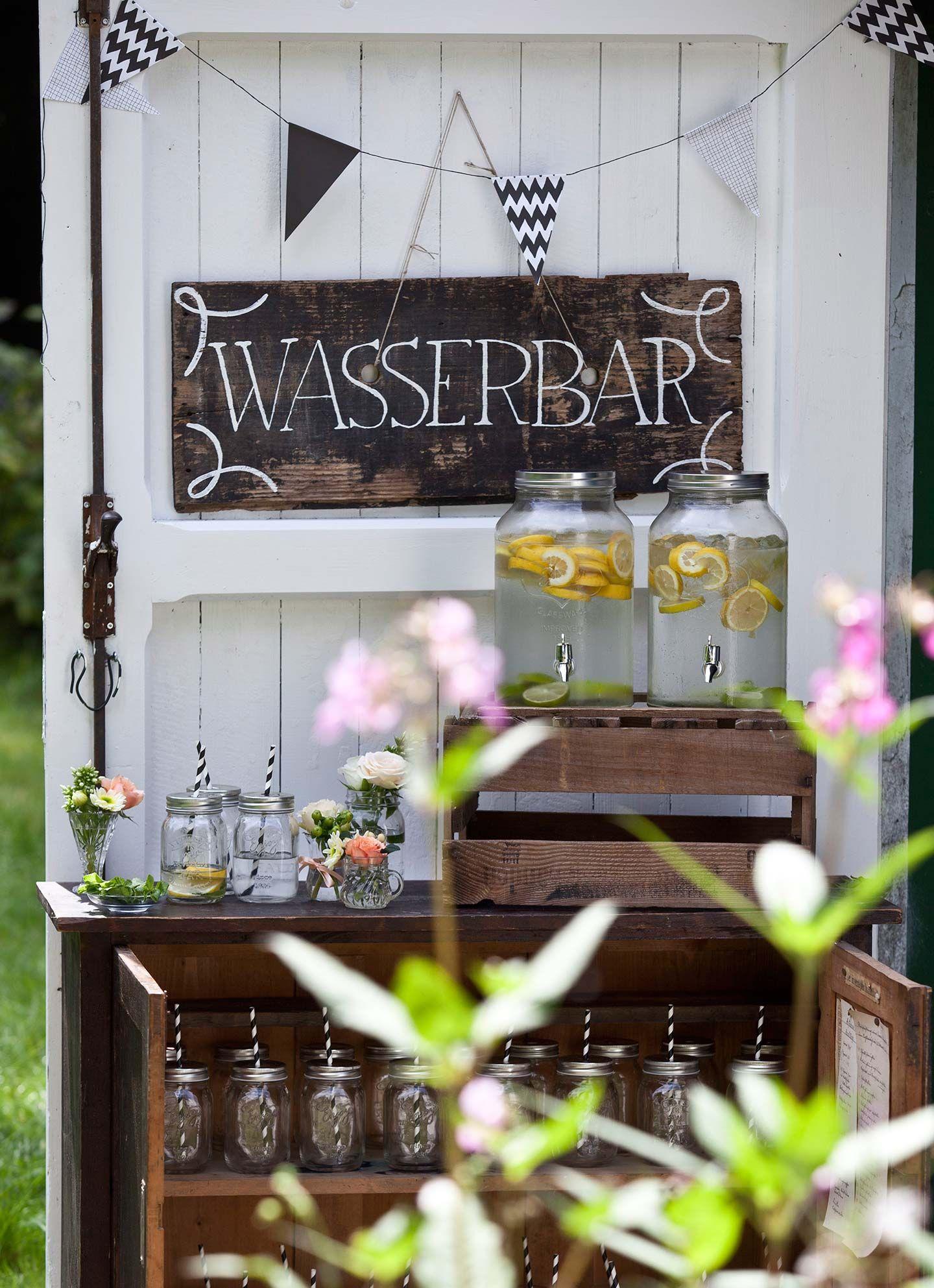 9 Schöne Dekotipps Für Rustikale Hochzeiten   Wasserbar