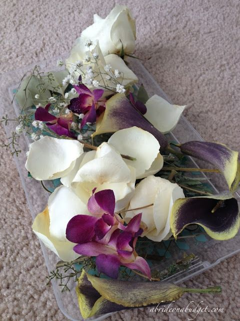 Wedding DIY Preserving Your Flowers At Home