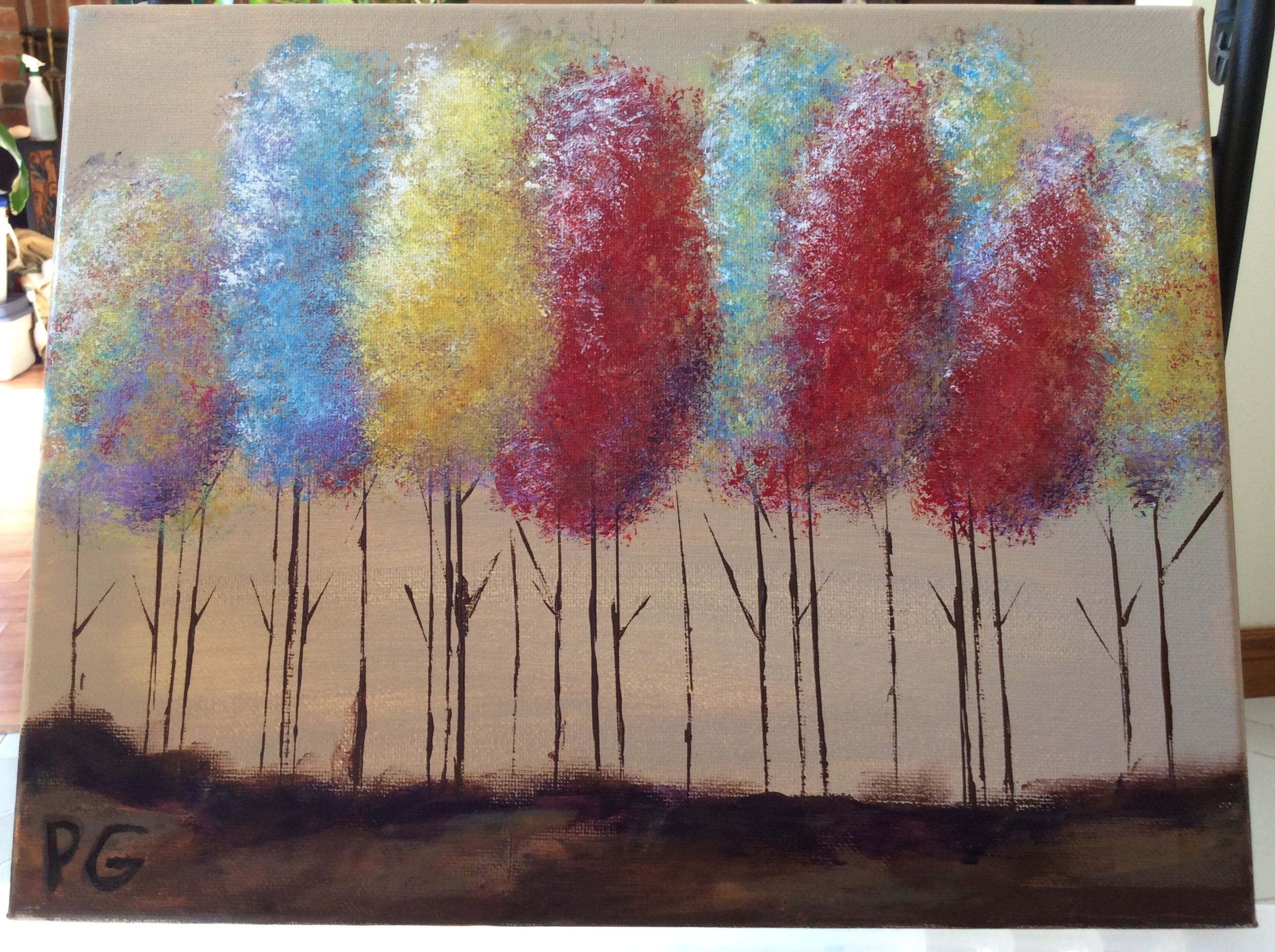 My First Sponge Painting Painting Sponge Painting Painting Videos