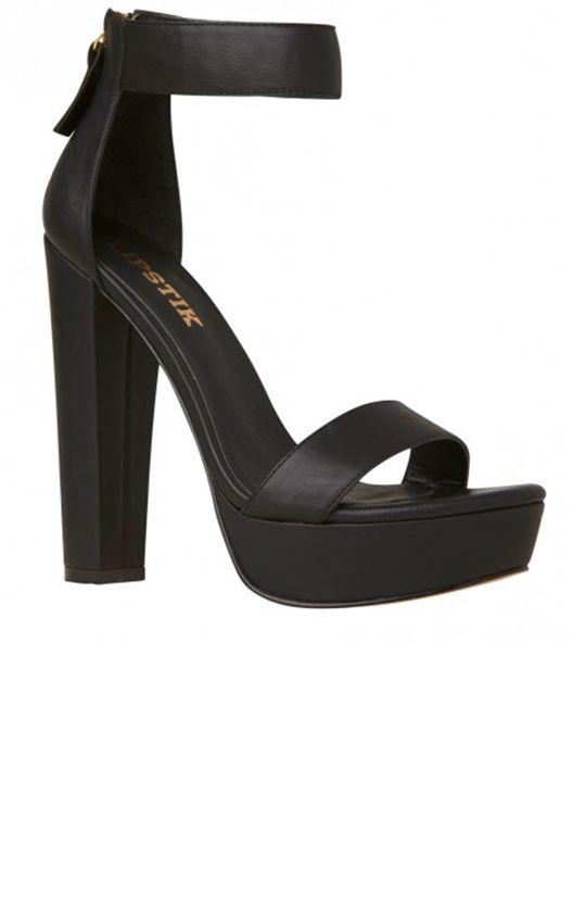 b162ab3ba Lipstik Shoes - Believer Heel - Black