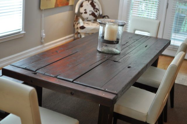 The Clayton Dining Table   Eclectic   Dining Tables   Atlanta   By Rustic  Trades Furniture
