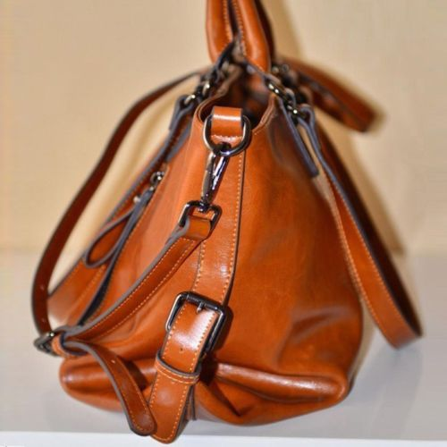 0ec6c36dc0 Women-Lady-Oiled-Leather-Tote-Handbag-Purse-Messenger-Shoulder-Bag -Satchel-AU