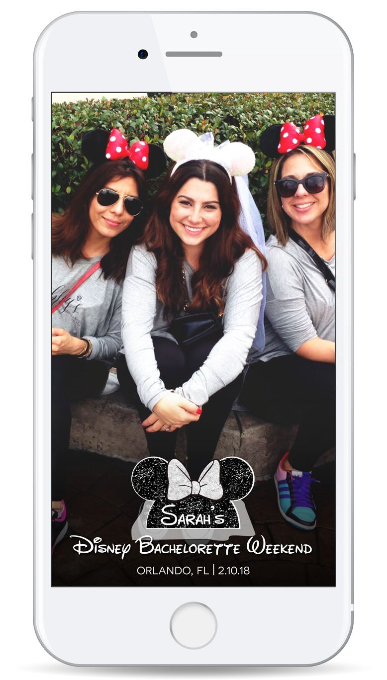 Disney Bachelorette Weekend Geofilter - Snapchat Filter - Drink ...