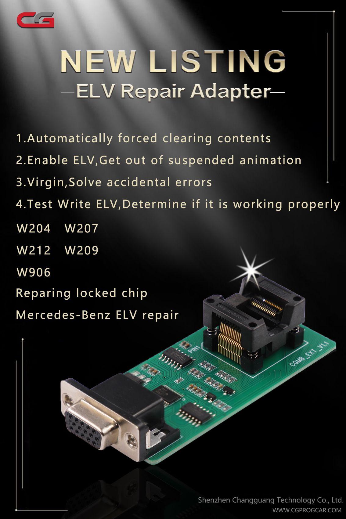 CGDI Prog MB Benz ELV Repair Adapter For CGDI MB Benz Key