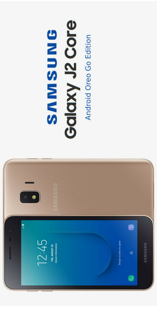 Samsung Galaxy J2 Core Android Oreo Go Edition Smartphone Launched In India Samsung Galaxy Samsung Samsung Gadgets