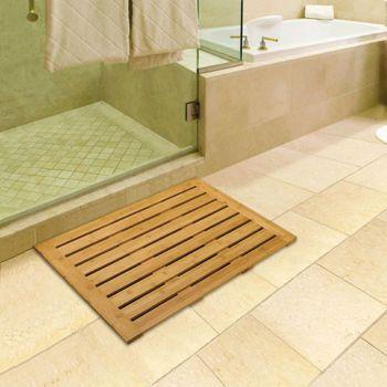 Costco Vancouver Classics Rectangular Bamboo Bath Mat Wishlist
