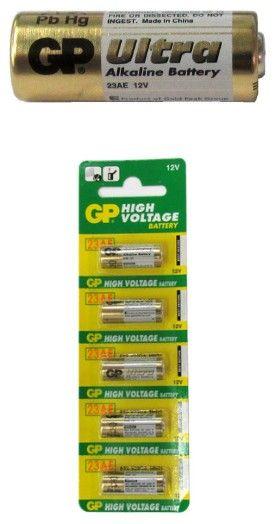 Gp23a 12v Alarm Remote Alkaline Batteries Carded Alkaline Battery Alkaline Batteries