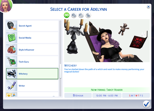Witchery Career Melunn On Patreon In 2020 Sims 4 Jobs Sims 4 Traits Sims 4