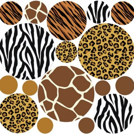 Animal print circulos  animal print  Pinterest  Animals and